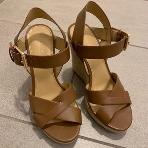 MICHAEL Michael Kors Shoes - MICHAEL Michael Kors Leather Espadrilles - Size 7